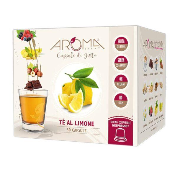 capsule nespresso te al limone