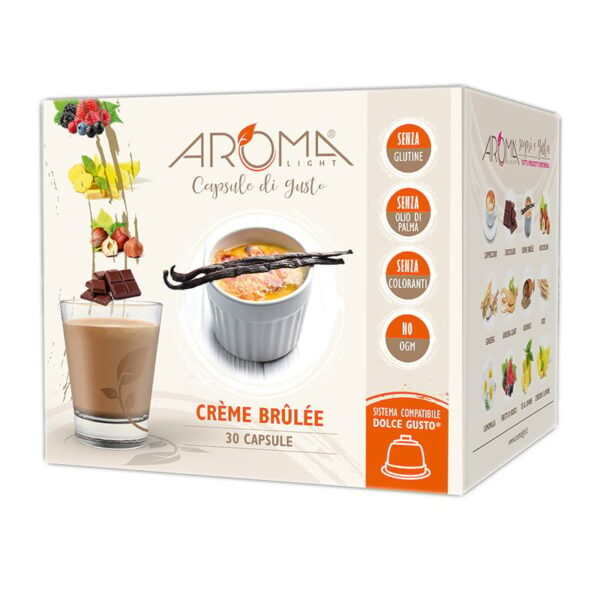 capsule dolce gusto creme brulee
