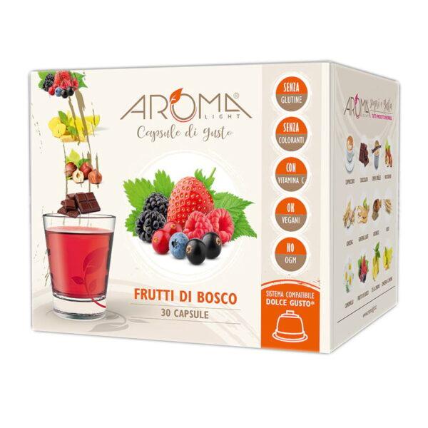 capsule dolce gusto frutti di bosco