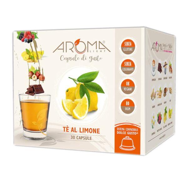 capsule dolce gusto te al limone