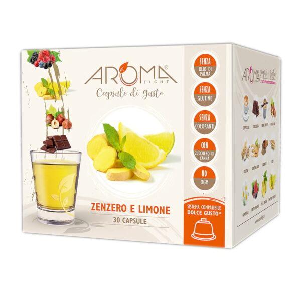 capsule dolce gusto zenzero e limone